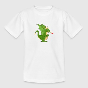 green Dragon - Teenager T-shirt