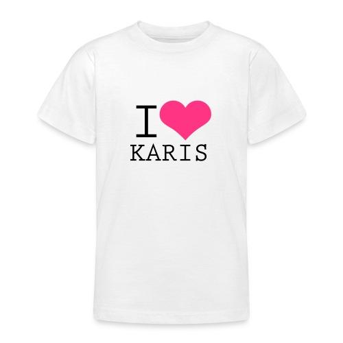 I HEART KARIS - Nuorten t-paita