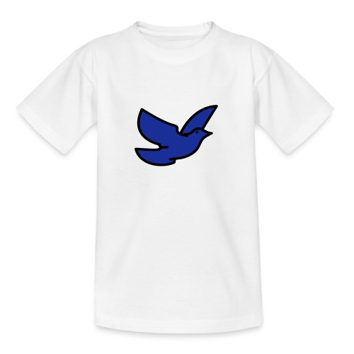 blue bird - Teenage T-Shirt