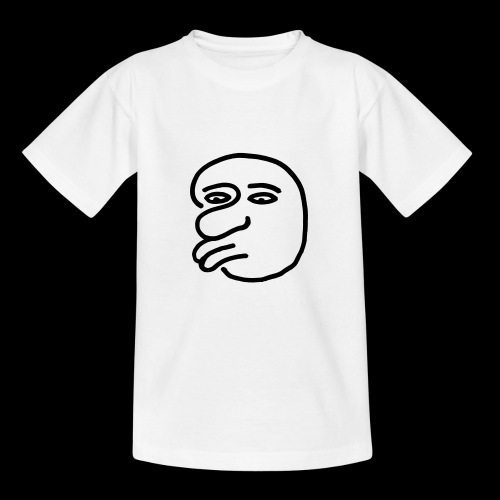 AgainstHumanityface - Teenager T-Shirt