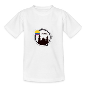Kolumbien T-Shirt - Teenager T-Shirt