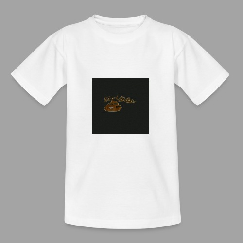 Günni Günter Design Black Background- - Teenager T-Shirt