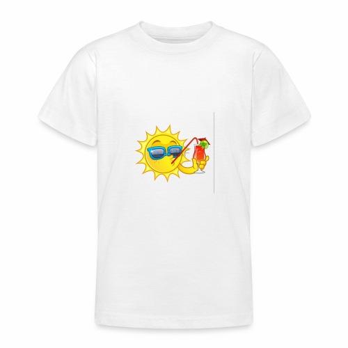 Soleil en vacance - T-shirt Ado