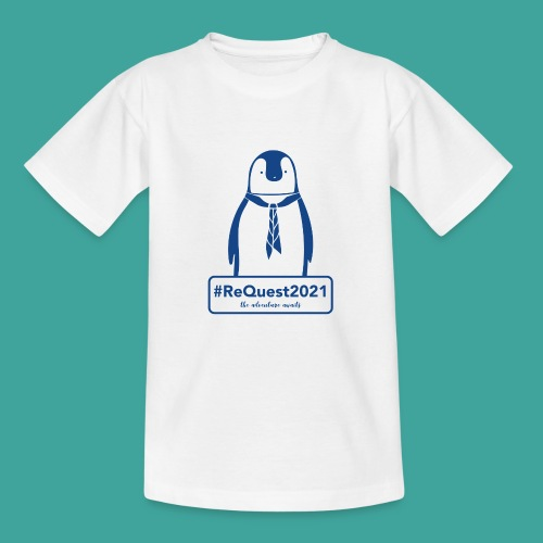Kent Scouts #ReQuest2021 Antarctica Expedition - Teenage T-Shirt