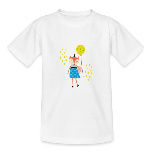 Fuchs - Ballon - Teenager T-Shirt