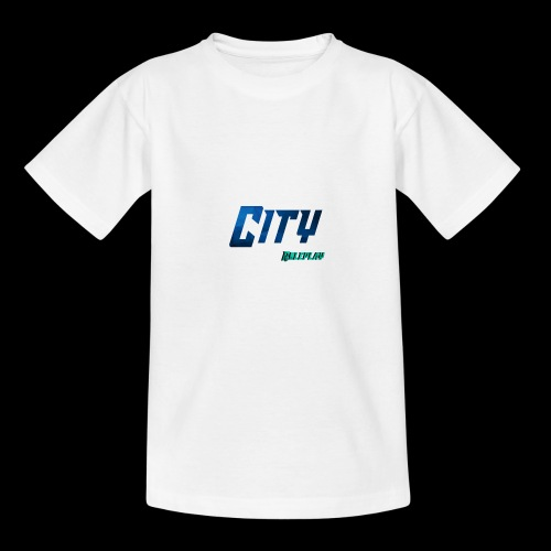 CityRP | Logo - Teenager T-Shirt