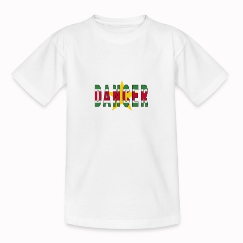 SURINAMESE DANCER - Teenage T-Shirt