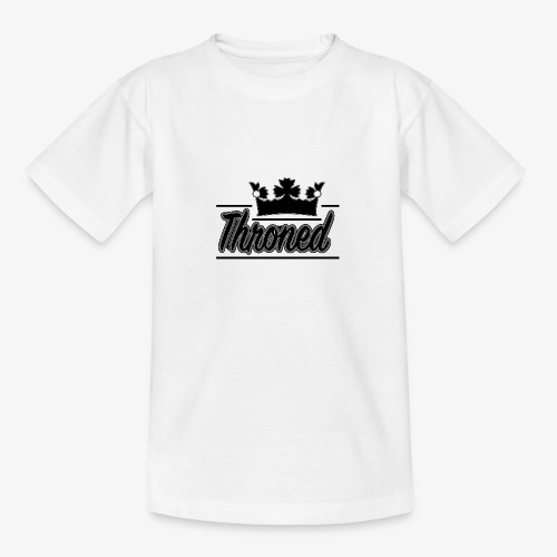 Throned Logo - Teenage T-Shirt