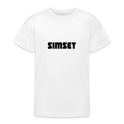 SIMSET - T-skjorte for tenåringer