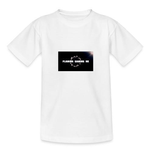 FLAMING GAMING, pre release merch - Teenage T-Shirt