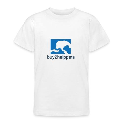 Kaufen und Helfen - Teenager T-Shirt