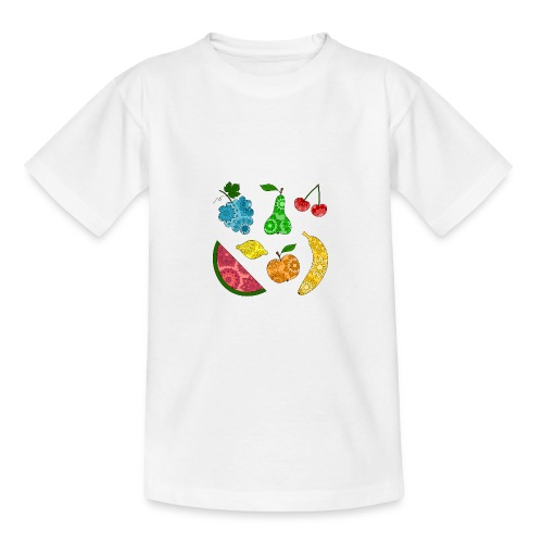 Obstsalat - Teenager T-Shirt