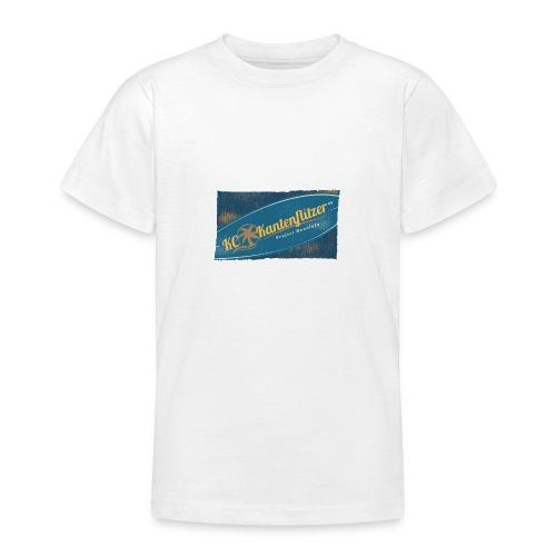 Kantenflitzer Beach - Teenager T-Shirt