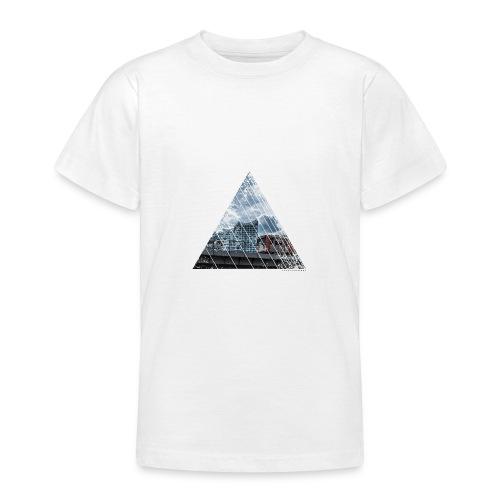 Hamburg Stadt Licht Harmony - Teenager T-Shirt