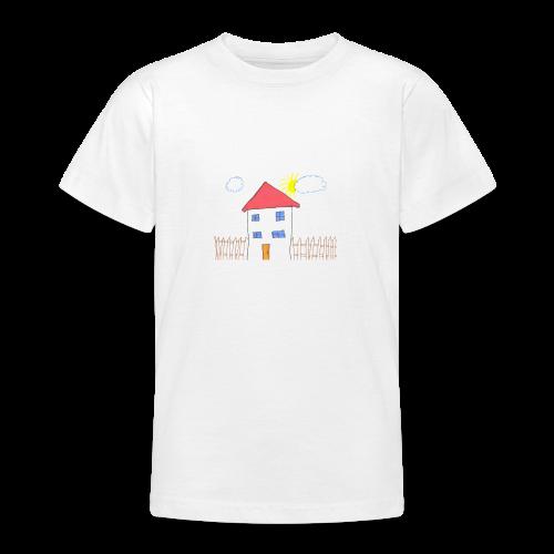 Das Familienhaus Haus Kindheit - Teenager T-Shirt