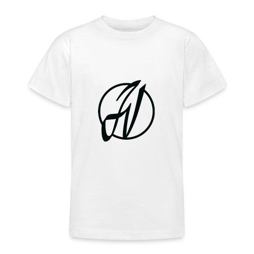 JV Guitars - logo noir - T-shirt Ado