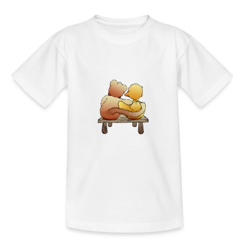 Freunde für immer - Teenager T-Shirt