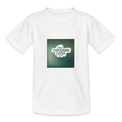 NEVER GIVE UP! - Teenager-T-shirt