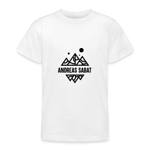 sabat logo black - Teenager-T-shirt