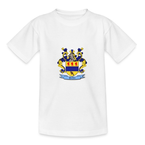 Peffer Family Crest - Teenage T-Shirt