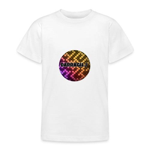 Darragh J logo - Teenage T-Shirt