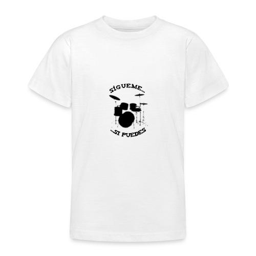 Sigue al batería - Camiseta adolescente