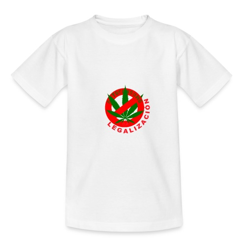 shirt LEGALIZACION DESPEJARTE - Camiseta adolescente