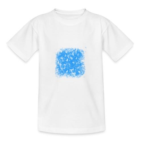 blaue Wolke - Teenager T-Shirt