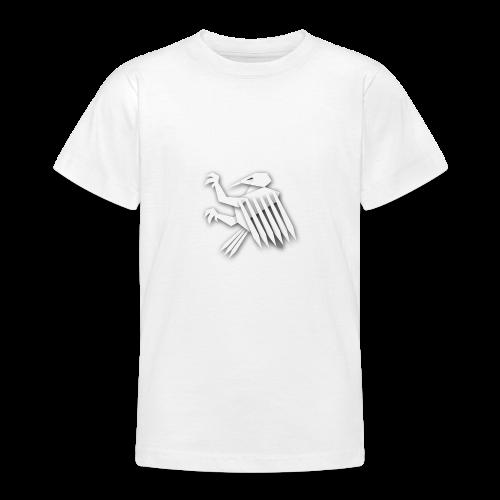 Nörthstat Group ™ White Alaeagle - Teenage T-Shirt