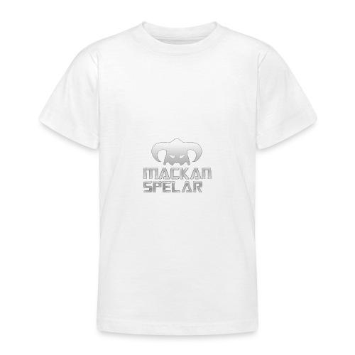 Mackanspelar 5/5s skal vit - T-shirt tonåring