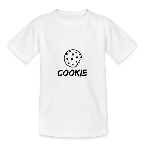La galleta _-_ Negro _-_ galleta - Camiseta adolescente
