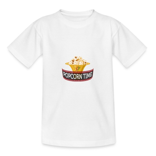 Popcorn Time - Teenager T-shirt