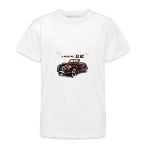 matricule 22 - T-shirt Ado