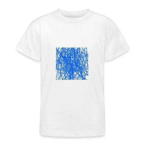 Blue lines - T-shirt tonåring