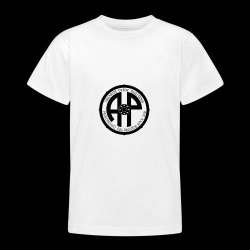 Logo 2019 Schwarz - Teenager T-Shirt
