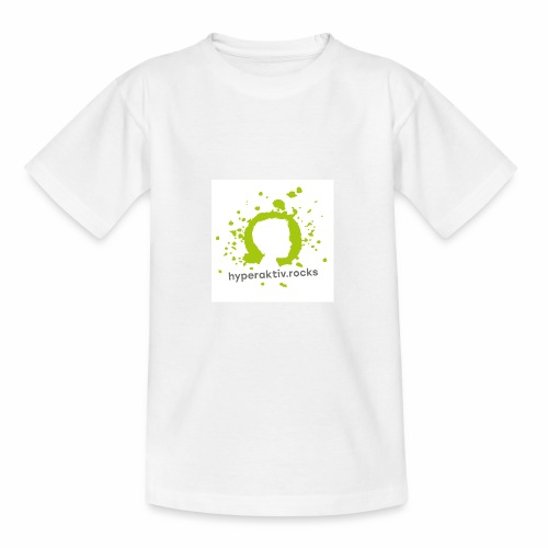 hyperaktiv.rocks Logo - Teenager T-Shirt