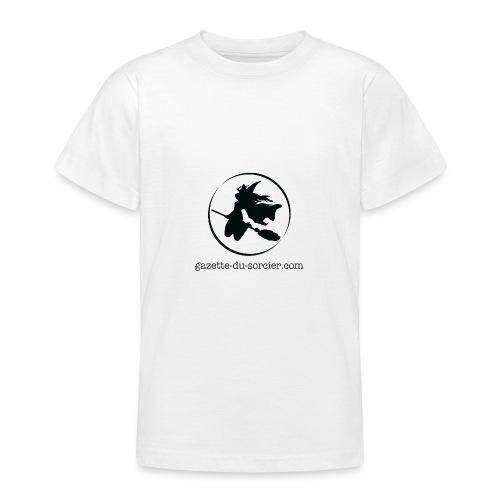 T-shirt logo Gazette - T-shirt Ado