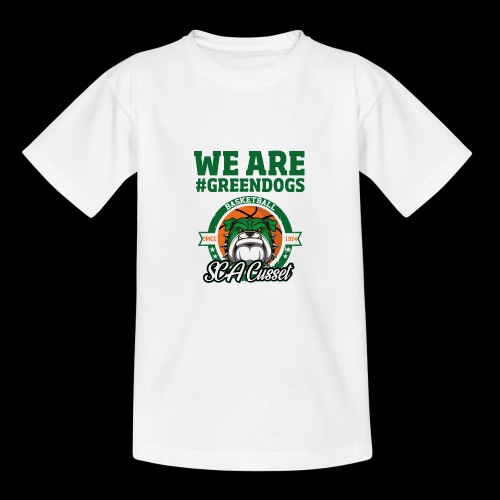 SCA CUSSET WE ARE GREEN - T-shirt Ado