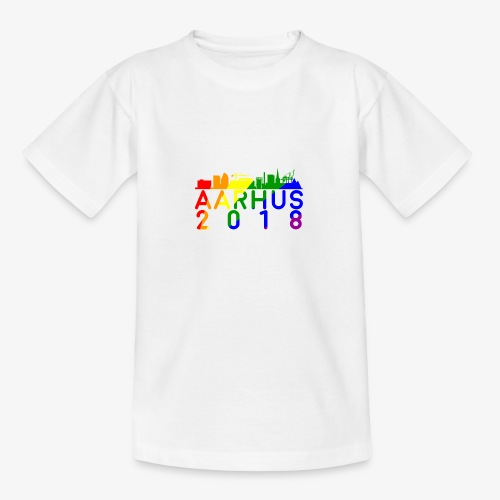 Aarhus Pride 2018 - Teenager-T-shirt