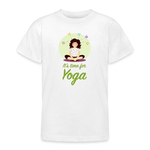 Yoga verticale - Maglietta per ragazzi