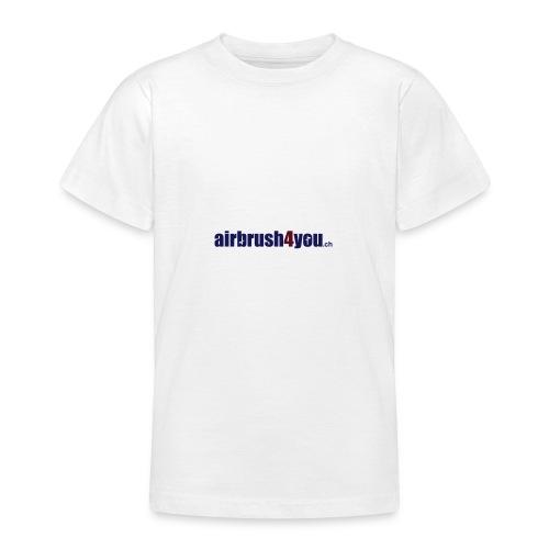 Airbrush4You.ch Airbrush Switzerland - Teenager T-Shirt