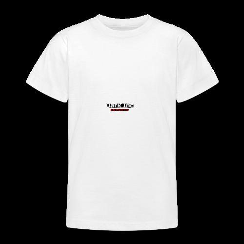 Dark Inc Text - Teenager-T-shirt