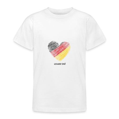 Fußball WM – Deutschland-Shirt - Teenager T-Shirt