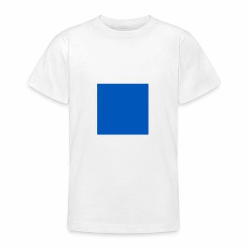 Blue - T-shirt tonåring