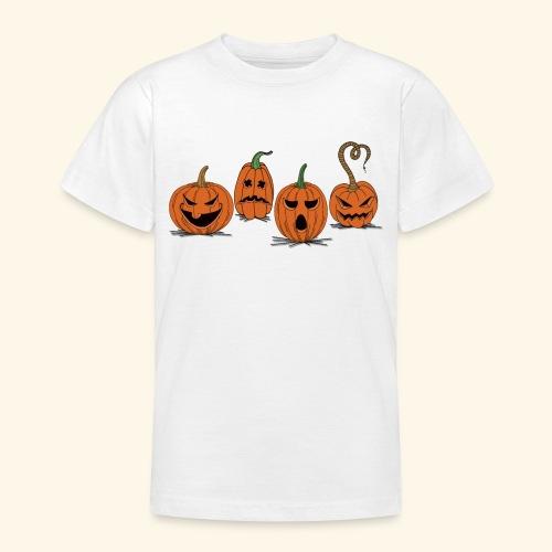 Pumpkin gear - Pumpkin gear on Halloween - Teenage T-Shirt
