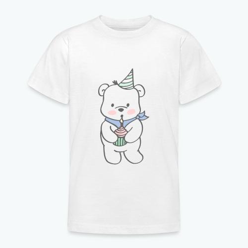 Geburtstagsbär - Teenager T-Shirt