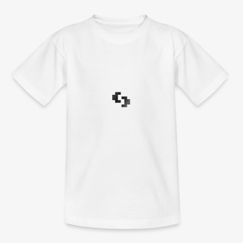 WildesReh Logo Schwarz - Teenager T-Shirt