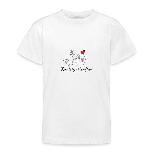 logo kindergartenfrei1 - Teenager T-Shirt