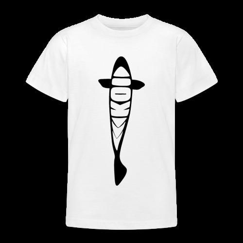 KOI - schwarzes Logo - Teenager T-Shirt