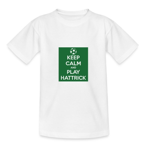 keep calm and play hattrick - Maglietta per ragazzi
